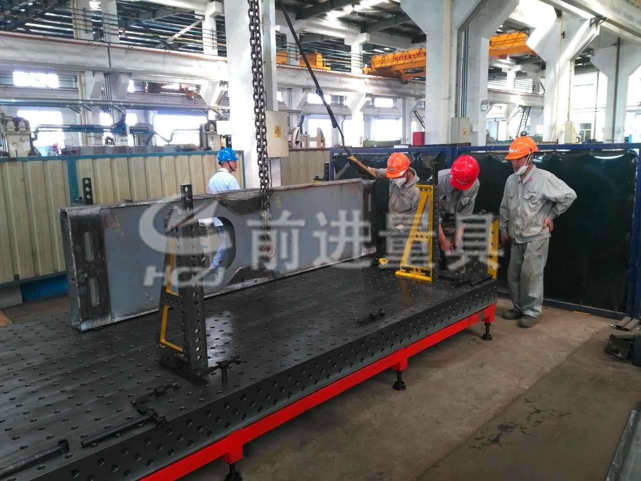 为新加坡RAM Spreaders 常熟众达机械工程有限公司提供三维焊接工装