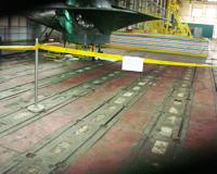 地轨(T型槽铁)安装方案